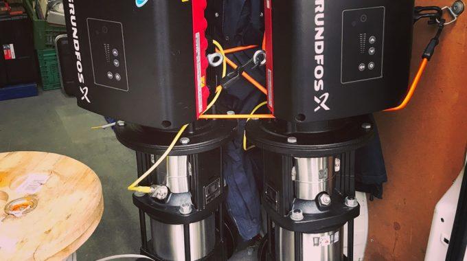 Grundfos CRE Mit Neuen Frequenzumrichtern