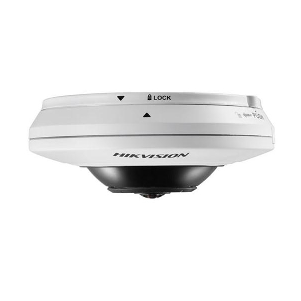 4MP Compact Fisheye Netzwerk Kamera